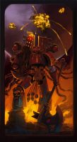 Blood for the Blood God by TroyGalluzzi