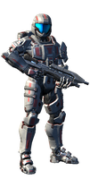 SPARTAN IV Victor Booth by facelessPysch0