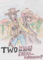 Two Mules for Sister Sarah and Maranda!? by Azure-Arts