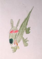 Green Dog 14 by JFP