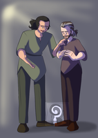 Ambrose and Eldric by curiousdoodler