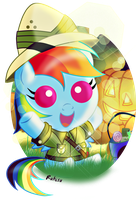 Halloween Dashie 2013 by Ruhisu