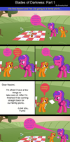Family Time: Swords of Darkness Part 1 by EmoshyVinyl