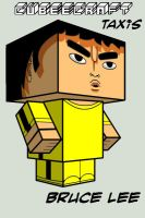 Cubee - Bruce Lee by TaxisFlashDude
