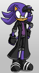 Maximum the Hedgehog by BlackShyPikachu