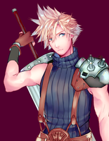 Cloud Strife by Awato