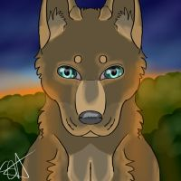 Dusk- Wolf Icon by TheFallenWhisper