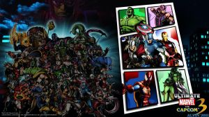 UMvC3 PS3 Wallpaper 7 by TheALVINtaker