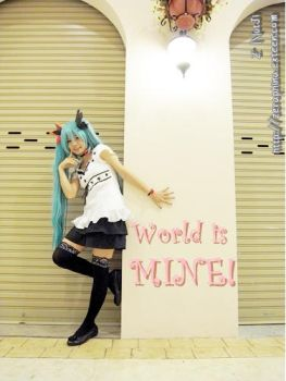 Hatsune Miku - World is mine by Zerana13