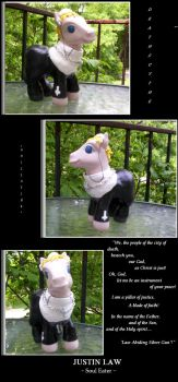 Justin Law: MLP Custom by Wolf-Apparition