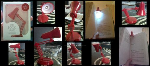 My new book lamp I bought today (30/09/2012) by Horsey-Luver450