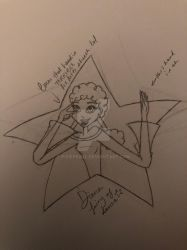 sketch: disco diva diana by pixiepearl