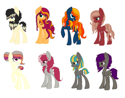 Pony adopts by lmschickenadopts