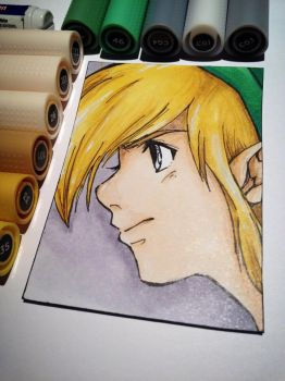 A Link to the Past Kakao Card by LaraWegenaerArts