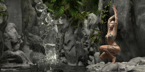 Priestess of the River by ThierryCravatte