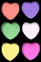Conversation Hearts by 1purplepixie