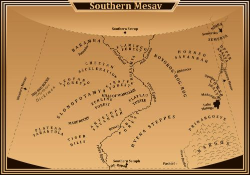 Southernmesav by TeoMegalion