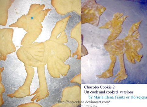 Chocobo Cookie 2 by HorseElena