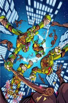 Tmnt cover by a-archer