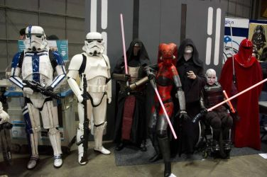 Ventress and gang by lycanthropica