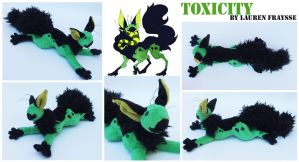 Plush Commission .:Toxicity the CCCat:. by Lfraysse