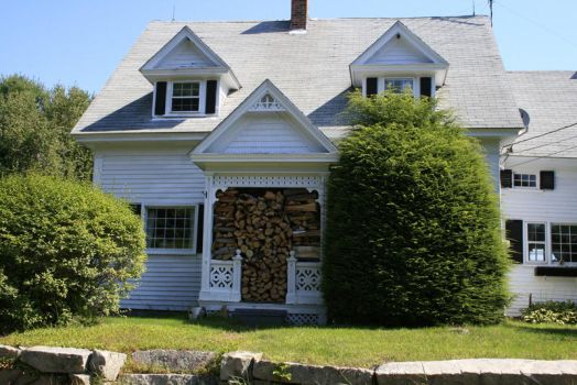 Building 5: Firewood Home, NH by PerpetualSandwich