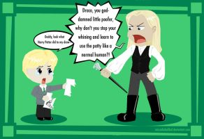 Lucius is Father of the Year by MissaDiabolikal