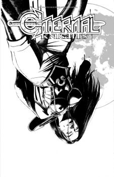 Eternal Knights Issue #1 Cover by Tibbittz