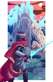 Hyper Light Drifter by Wilkoak