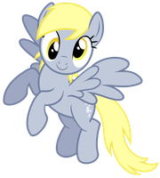 Derpy Flying Vector by GreenMachine987