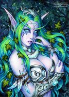 Tyrande Whisperwind by Candra