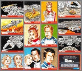 Space:1999 set 2 sketch cards 2 by Bowthorpe