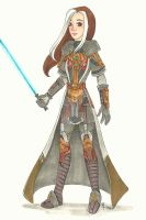 COMM: Jedi Knight Hayley by chelleface90