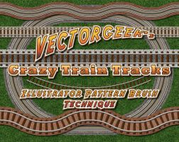 VG-CrazyRR-track by vectorgeek
