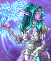 Tyrande by Iriadescent