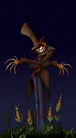 Scarecrow at hells farm by Lordstevie