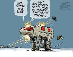 gobots on the planet hoth... by a-loft-on-cybertron