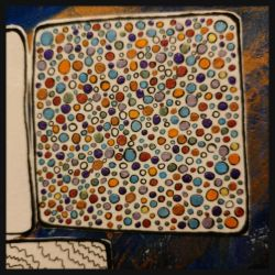 art journal dots by bleaknimue