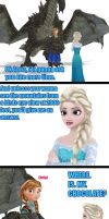 NEVER steal Elsa's chocolate by Keyblade-Assassin