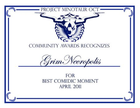 PMOCT CA-Best Comedic Moment by ProjectMinotaurOCT