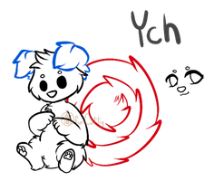 OPEN Chibi Cinnadog YCH [On Hold - Ask if Open] by funCatty