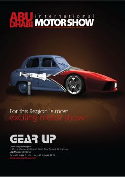 motor show ad by anacharef