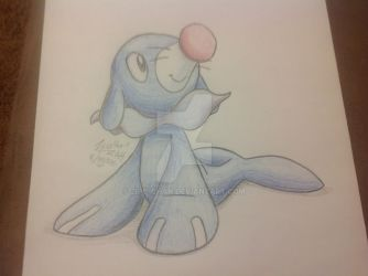 Popplio (Traditional) by Zipo-Chan
