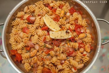 Pasta with clams by patchow