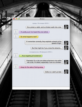 [Message Style] iMessages by bobjr
