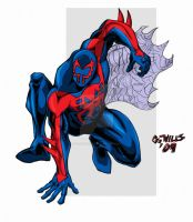 Spider-man 2099 colors 1-14 by Glwills1126