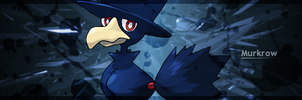 Murkrow Signature by Chalkali
