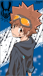 Tsuna - KH Reborn by Mirage-Sword