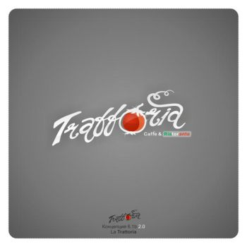 Logo Trattoria 2.0 by ahillesus