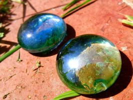 Glass Pebbles by KateHodges